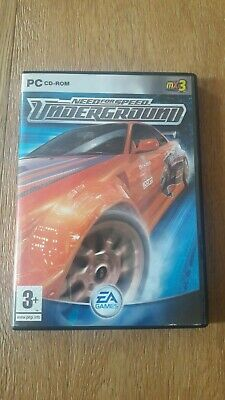 NEED FOR SPEED UNDERGROUND PC ITA  Raro  COFANETTO  PS2 PSX PS1 SEGA DREAMCAST