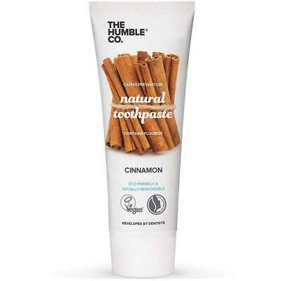 Humble Natural Toothpaste with Fluoride - Cinnamon-75ml