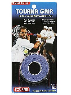 Racket Handle Grip Tournagrip Original Overgrip (Pack Of 3 Grips) Other