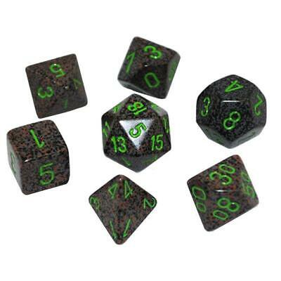 Polyhedral 7 Die Set Speckled Earth Chessex 25310 New Dice