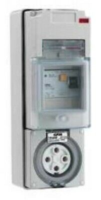 Clipsal 56-SERIES RCD PROTECTED SWITCHED SOCKET 500V 4-Pins GREY-10A, 20A Or 32A
