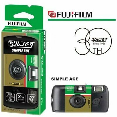 Fujifilm Quicksnap 400 ISO 27EXP Disposable Once Use Simple Ace Film Camera US