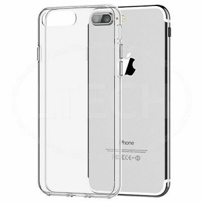 Case for iPhone X 7 8 6 6s Plus XR ShockProof Soft Phone Cover TPU Silicon