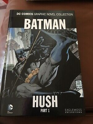 Batman DC Comics Graphic Novel Hush Part 1 & 2 Hardback Like New