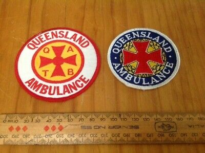 Collectible Queensland Ambulance patches (2)