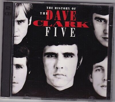 The History Of The Dave Clark Five 2 CD Set with Booklet