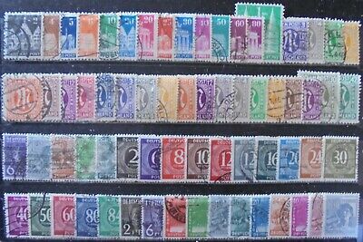 ALLIED OCCUPATION 1945-48 Excellent Collection of 67 Used