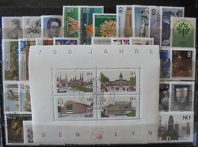 GERMANY (Berlin) 1985-87 Excellent Collection of 39 + Mini-Sheet MNH & Cancelled