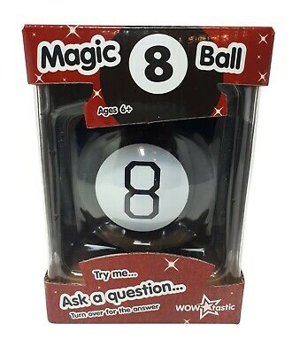 Magic 8 Ball Fortune Future Teller Mystic Eight Ball Executive Toy Novelty Gift