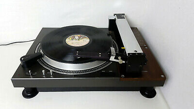 Technics SL-110 / Rabco SL8E turn table and linear (tangential) tone arm