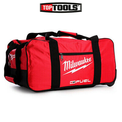 "Milwaukee M18 24"" Fuel Large Contractors Heavy Duty Duffel Tool Bag With Wheels"