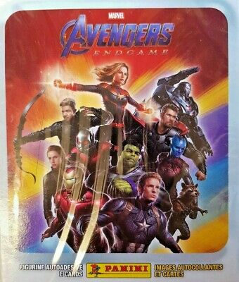 Marvel Road To Avengers Endgame Official Stickers = Full Box = 50 Stickers