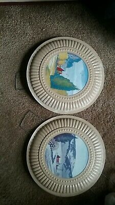 2 Stove Pipe Hole Decorative Covers