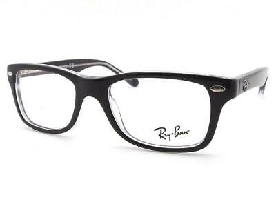 Ray-Ban Junior RB1531 3529 Top Black on Transparent 48-16-130 Brand New