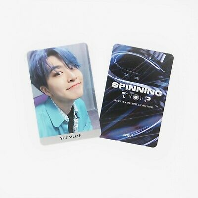 [GOT7] SPINNING TOP Official Photocard / Eclipse / 1pc / YOUNGJAE 1