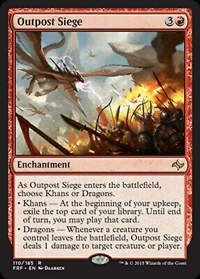 MRM ENGLISH 4x Avant-poste kjeldorien Kjeldoran Outpost NM MTG magic ALL