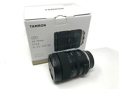 Tamron SP 24-70mm f/2.8 Di VC USD G2 Lens for Canon EF UK NEXT DAY DEL