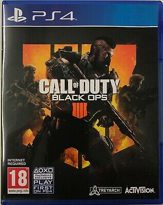 Call Of Duty-Black Ops 4(Sony Playstation 4/PS4) Preowned Free UK P&P