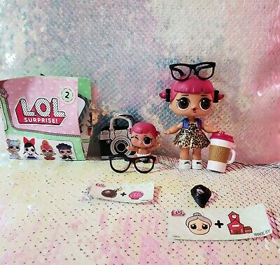 🍒LOL Surprise Doll CHERRY BIG & LIL SIS Sister Set Dolls SISTERS CAMERA Bag 🍒
