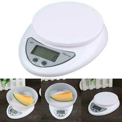 5kg/1g  Digital Electronic Kitchen Food Diet Postal Scale-Weight Balance-Di K0T8