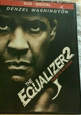 The Equalizer 2 - DVD + Digital (There is No Equal Denzel Washington) NEW SEALED