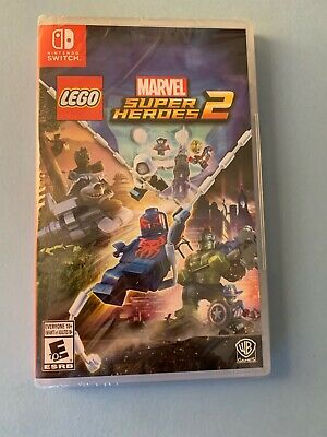 LEGO Marvel Super Heroes 2 (Nintendo Switch, 2017) BRAND NEW SEALED US/Canada