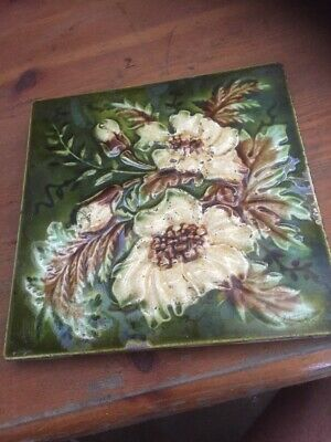 Embossed Victorian Fireplace Tile Original