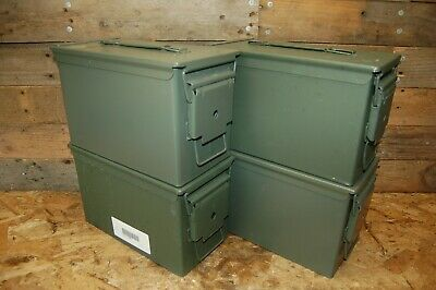 (4 PACK) 50 Cal M2A1 AMMO CAN EXCELLENT CONDITION