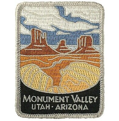 Monument Valley Patch - Utah, Arizona, Official Traveler Series (Iron on)