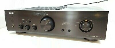 DENON PMA-720AE Stereo Integrated Amplifier in Black- Ex-Display model