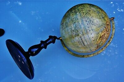 Antique JAN FELKL & SOHN Terrestrial Globe c.1900