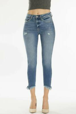 43c8826a91f KanCan JeanS -Summer Mid-Rise Distressed Ripped Skinny Jeans KKC8442M 7 9 13