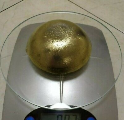 665 grams Scrap gold BIG bar for Gold Recovery melted different computer pins
