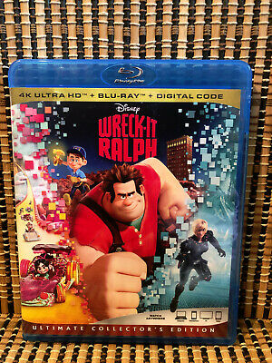 Wreck-It Ralph (1-Disc Blu-ray, 2018)Disney/Pac-Man/John C. Reilly/Sarah Silverm