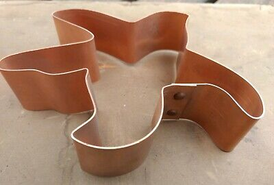 Vintage Copper Cookie Cutter- STARFISH from Kitchen Collectables Made in USA EC