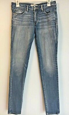 b15fb4d9c Abercrombie & Fitch Womens Skinny Jeans Size 6R Regular 28x31 Distressed  Look