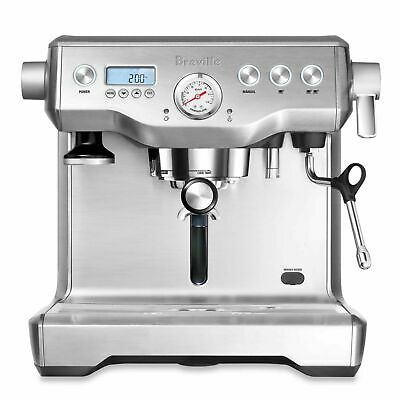 Breville The Dual Broiler Espresso Maker In Brushed Stainless Steel Bes920Bsxl