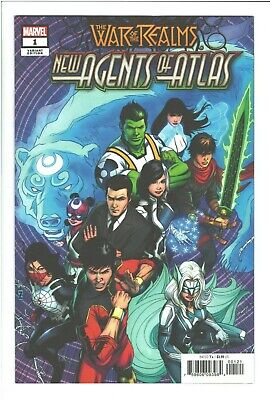 New Agents of Atlas #1 War of the Realms 1:50 Variant NM