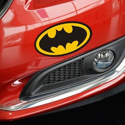 Batman fun car Sticker Car Bumper Van Window Laptop JDW VINYL Decals Stickers