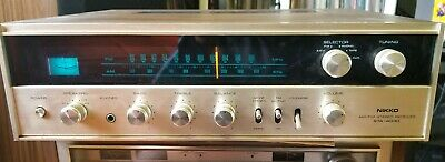 Vintage Nikko Am/Fm Stereo Receiver Sta-4030 Works Great, Phono Sounds Great