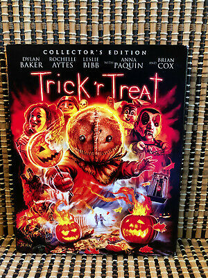 Trick 'R Treat: Collector's Edition (Blu-ray,2018)+Slipcover.Halloween.Horror