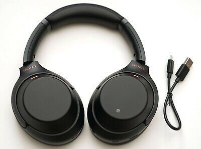 Sony Wh-1000Xm3/B Wireless Noise Cancelling Stereo Headphones Black