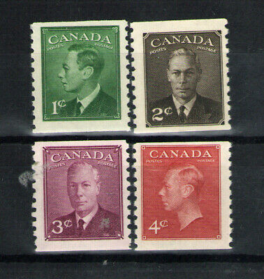 Canada   Scott  297-300  Coil Set    Mint  Never Hinged