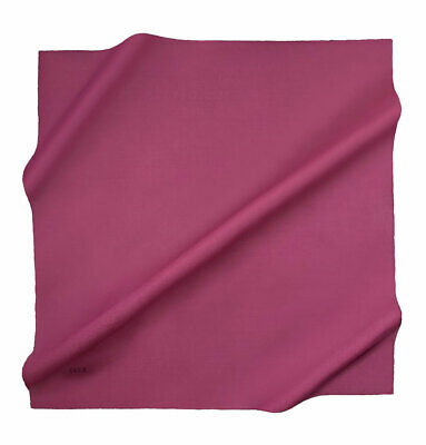 Aker Women's Silk Cotton Square Solid Scarf #7071-493 Summer Hijab