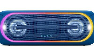 Sony SRS-XB40 Portable Wireless Speaker, Black (JE)