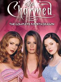 Charmed Season 4 Genuine UK DVD – UK Preowned – FAST DISPATCH