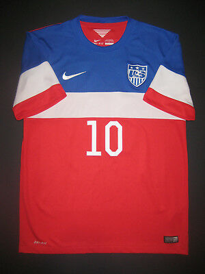 46a63cf28 2014-2015 Nike Authentic USA Landon Donovan Soccer Away Jersey Shirt Kit  USMNT