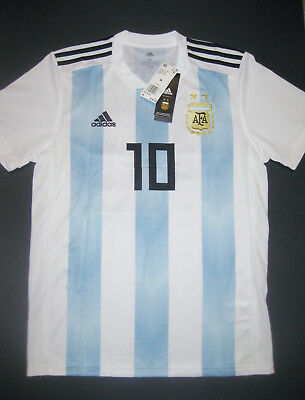 410704777f6 2018-2019 World Cup Adidas Argentina Lionel Messi Home Jersey Shirt  Barcelona