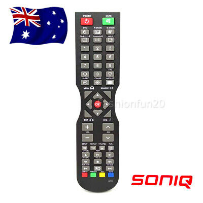 2019 (QT166, QT155, QT155S) QT1D Remote Control for SONIQ TV - NO SETUP NEEDED