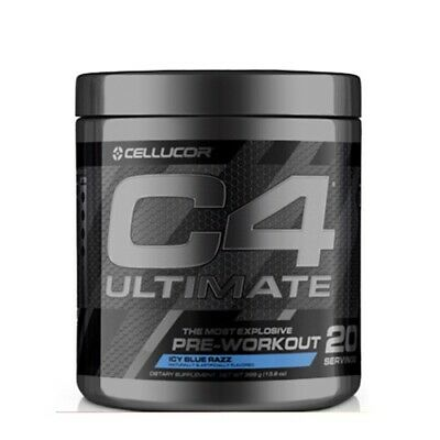 Cellucor C4 Ultimate 20serve x 2 Explosive Preworkout  + Free Super HD 120Caps*